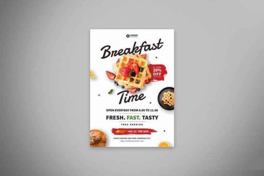 esempio di flyer alimentare