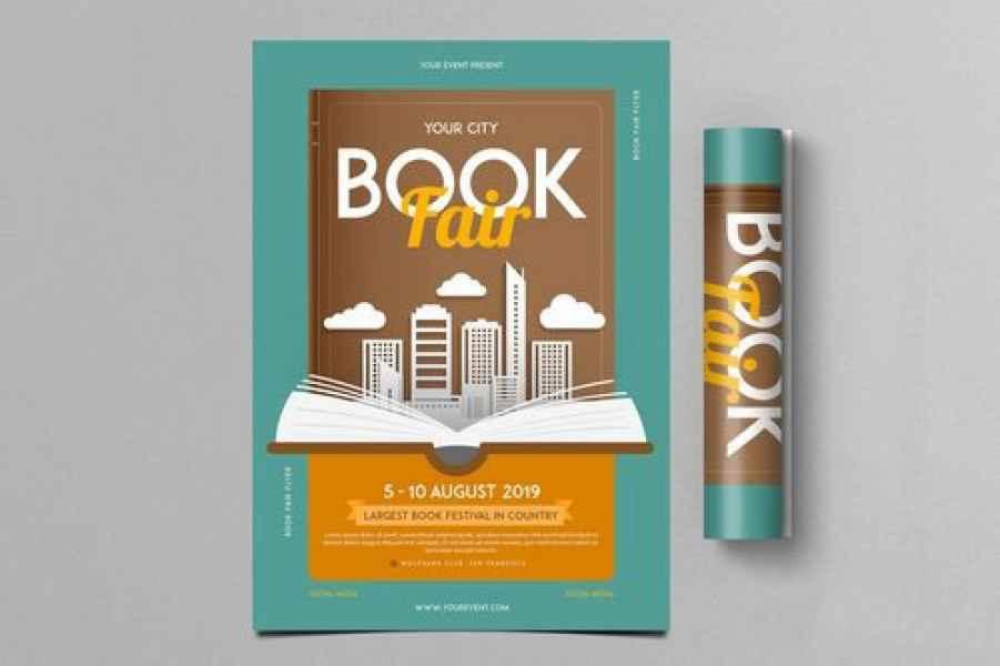 esempio di flyer libri