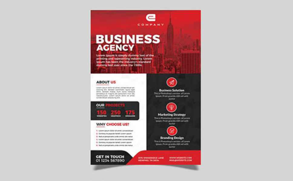 esempio di flyer business