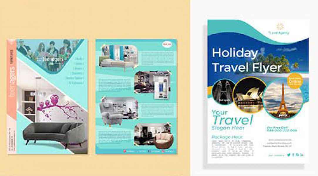 esempio di flyer vacanze