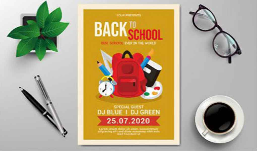esempio di flyer scuola