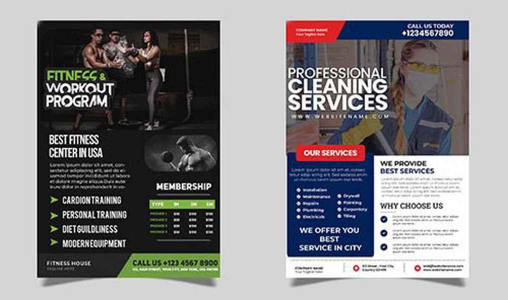 esempio di flyer