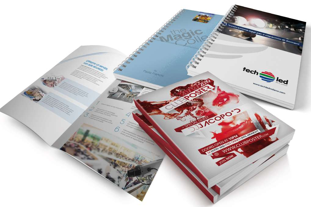 Brochure e cataloghi