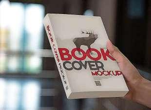 La copertina del libro, com'è composta